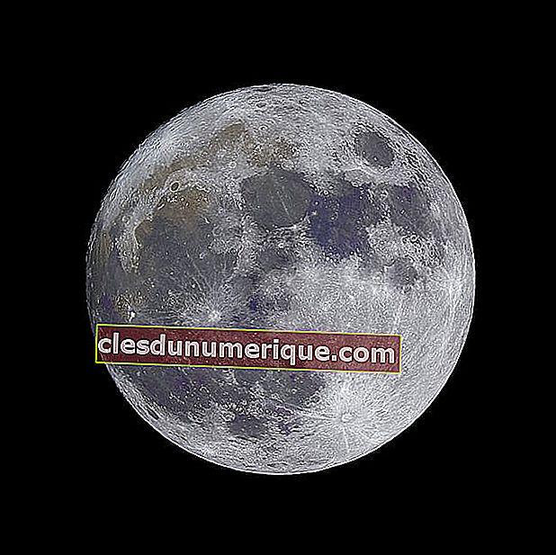 La forme de la lune et sa phase, et son impact sur les humains