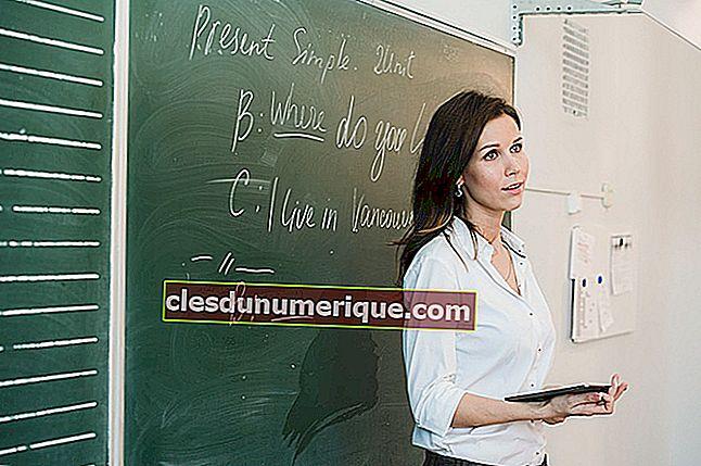Connaissez les 7 types d'enseignants à l'école, quel enseignant êtes-vous?