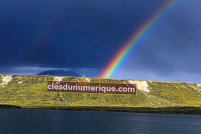 Descubra el proceso del arco iris