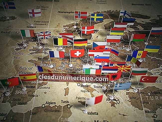 5 pays avec les drapeaux les plus uniques